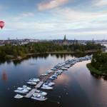 Der Blick über Djurgården verspricht nicht zu viel - es ist eine herrliche Natur mitten in der Stadt! © Ola Ericson/imagebank.sweden.se