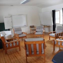 Ein weiterer Gruppenraum im Haus Ängskär in Schweden.