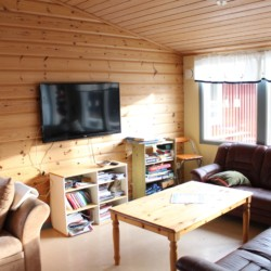 Ein Gruppenraum im Freizeitheim Ängskär in Schweden.