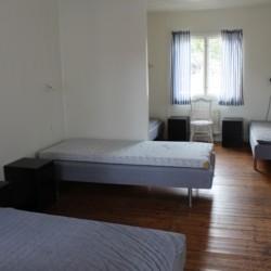 Ein Vierbettzimmer im schwedischen Gruppenhaus Ängskär.