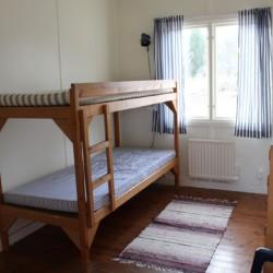 Ein Zimmer im Freizeitheim Ängskär in Schweden.