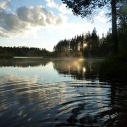 Das Kanuwandern Värmland in Schweden.