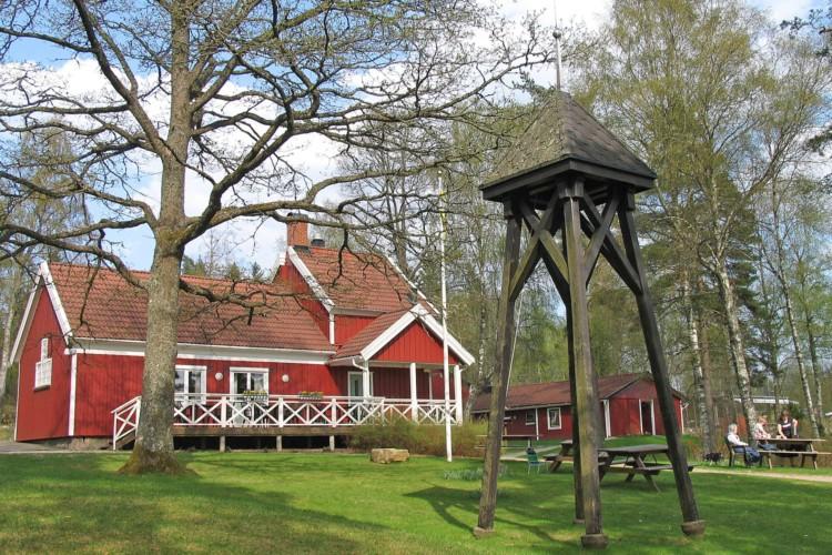 Das schwedische Freizeithaus für Gruppen Bovik Lägergård.