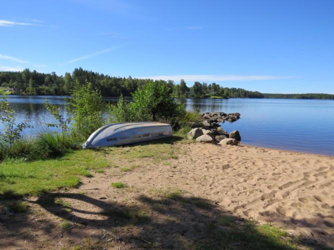 Kanus des Freizeithauses Bovik Lägergård in Schweden.