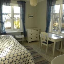 Zimmer im schwedischen Gruppenhaus Kåfalla Herrgård am See für Kinderfreizeiten