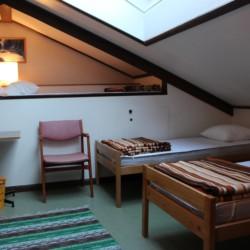 4-Bett-Zimmer im schwedischen Ferienhof Skoglundsgarden für Jugendfreizeiten