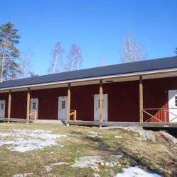 Das schwedische Haus Sommarhagen von außen.