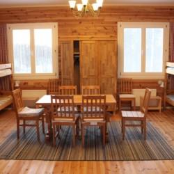 Die Zimmer im schwedischen Freizeitheim Sommarhagen.