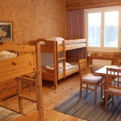 Die Zimmer im Gruppenhaus Sommarhagen in Schweden.