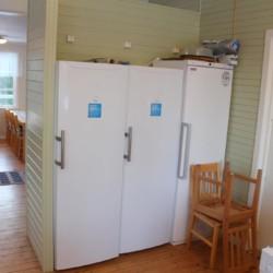 Lebensmittelunterbringung im Freizeitheim Sommarhagen in Schweden.