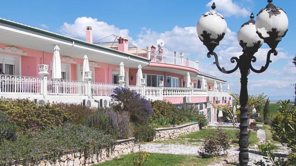 GRVO Urlaub mit Rolli im Hotel Villa Sevasti zwischen Olymp und Meer