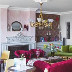 GRVO Salon mit Meerblick im Rolli-Hotel Villa Olymp in Griechenland.