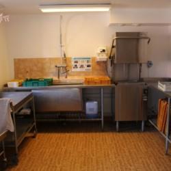 Profi-Küche im schwedischen Gruppenhaus am See Vägsföjors Herrgåard