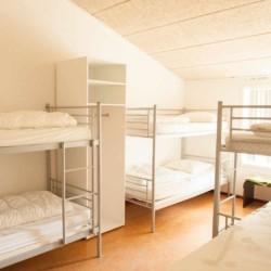 Schlafraum im niederländischen Gruppenhaus Lohr