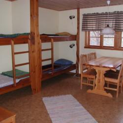 SEEN_4S_1 Die Zimmer im Gruppenhaus Das schwedische Gruppenhaus Ensro Lägergård in Schweden.