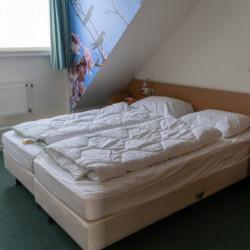 NLPO Rollihotel Postelhoef in den Niederlanden Zweibettzimmer
