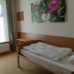 NLPO Rollihotel Postelhoef in den Niederlanden Einzelzimmer