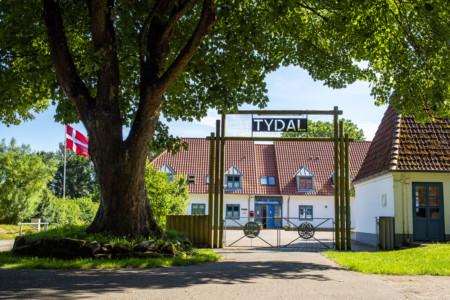 Das Gruppenhaus für Jugendfreizeiten Tydal an der dänischen Grenze
