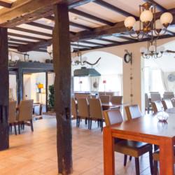 Der barrierefreie Speisesaal im niederländischen Gruppenhaus De Boerschop.