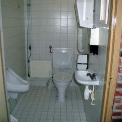 Sanitäre Anlagen im Freizeithaus De Boerschop in den Niederlanden.