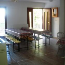 Speisesaal im kroatischen Gruppenhaus Haus Martin direkt am Mittelmeer