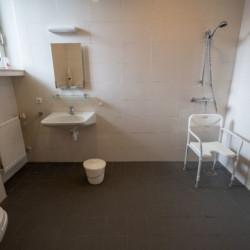 Barrierefreies Badezimmer im Winterberger Tor im Sauerland für behinderte Menschen und Rollstuhlfahrer