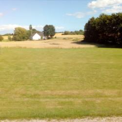 Fußballplatz am Gruppenhaus Skovly Langeland in Dänemark