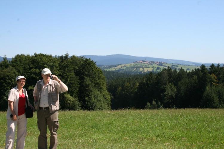 Ausflug in die Natur am bayerischen Gruppenhaus Hotel Bayerischer Wald*** in Deutschland.