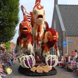 Blumenparade in den Niederlanden