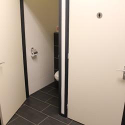 Sanitär im Gruppenhaus Heidegaard für behinderte Meschen in den Niederlanden