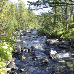 Freizeitheim in Norwegen mit Wasser