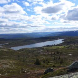 Norwegisches Gruppenhaus mit schnöner Natur und Seen