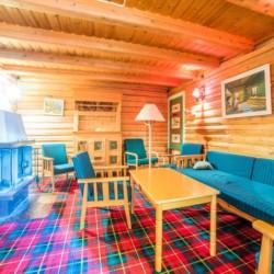 Der klein Gruppenraum im norwegischen Gruppenhaus Hallingdal.