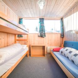 Dasa Schlafzimmer im norwegisches Gruppenhaus Hallingdal.