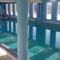 Pool im norwegischen Freizeitheim für Jugendfreizeiten