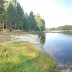 Badesee am Freizeitheim für Jugendgruppen in Norwegen