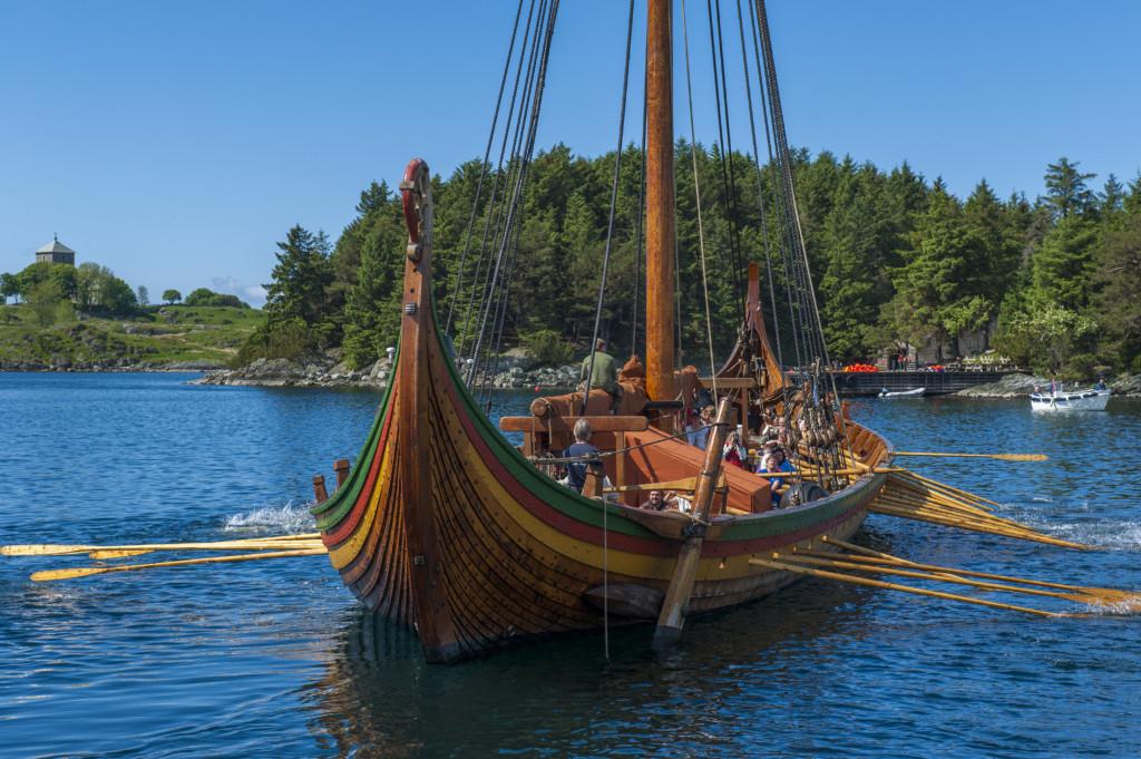 Norwegen 2021-05-28 Drachenboot
